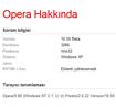 Opera'da User Agent Switcher Kullanımı
