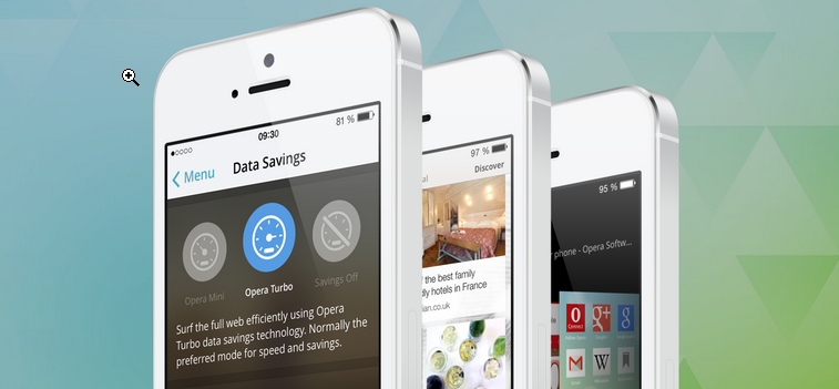 Opera Mini, iOS için Yeniden Dizayn Edildi!